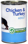 Nature 'Protection Dog konz.Adult kura / morka 400 g