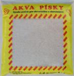Piesok akváriový Akva č.1 - biely riečny jemný 3 kg