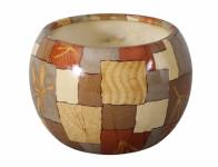 Obal MANES PEXESO keramický lesklý hnědý d11x10cm