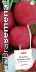 Dobrá semena Ředkvička červená - Lada raná 5g