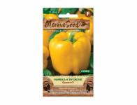 Osivo Paprika zeleninová na rýchlenie GARNET F1, žltá - VÝPREDAJ