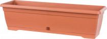 Truhlík Similcotto brúsený - tehlová terakota 60 cm - VÝPREDAJ