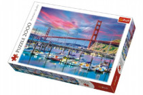 Puzzle Golden Gate, San Francisco 2000 dielikov 96x68cm