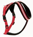 Postroj nylon Comfy červeno / čierny The Company 4 Small
