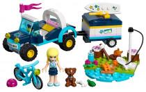 Lego Friends 41364 Stephanie a bugina s prívesom