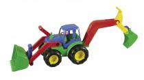 Traktor s radlicou a rýpadlom 52cm