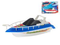 Motorový člun 24 cm na baterie - mix barev