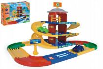 Garáž Kid cars 3D parkovisko 2 poschodia plast 4,6m Wader