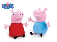 Peppa Pig - Pepina/George plyšoví 26 cm
