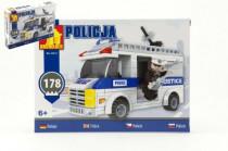 Stavebnica Dromader Polícia Auto 23415