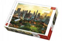 Puzzle Západ slnka v Bangkoku 3000 dielikov 116x85cm