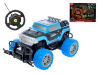 R / C auto off-road 1:20 20 cm 27 MHz s volantom na batérie plná funkcie - mix farieb