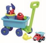 Vozík s kanvičkou a setom na piesok