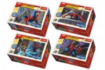 Minipuzzle Spiderman / Disney 54 dielikov - mix variantov či farieb