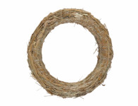 Kruh aranžovaciu slamový 40 / 8cm
