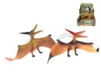 Pteranodon 41 cm na gume - mix farieb