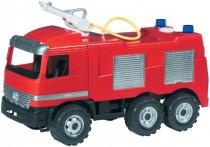 Mercedes auto hasiči plast 60cm striekacou vodu nádržka 1,6l
