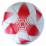 Spokey E2018 II Fotbalový míč bílo-červený, PVC, vel. 5