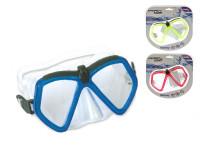 Potápěčské brýle polykarbonátová skla - mix barev