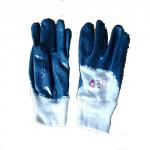 """rukavice HARRIER 10"""" bavlna/nitril"""