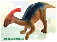 Dinosaurus - Parasaurolophus 22 cm