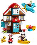 LEGO DUPLO Disney TM 10889 Mickeyho prázdninový dom