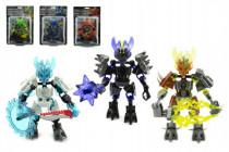 Robot bojovník plast 14cm - mix variant či barev