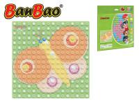 BanBao stavebnice Young Ones základná doska 25,5x25,5 cm transparentné
