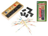 Domino 28 ks + mikado v drevenej krabičke