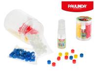Paulinda Super Beads Jumbo 10x8 cm 210 ks s doplnkami v dóze - mix farieb