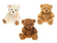 Medveď plyšový 14 cm - mix farieb