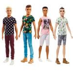 Barbie model Ken - mix variantov či farieb