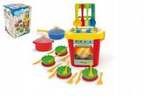 Kuchyň s nádobím plast 30x43x30xcm Party World Wader