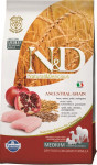 N & D Low Grain Dog Adult Chicken & Pomegranate 2,5 kg
