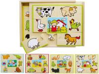 Puzzle set 4 ks