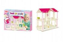 Domček pre bábiky drevený skladačka 35x25 cm