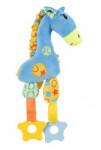 Hračka pes Giraffe COLOR plyš modrá 29cm Zolux