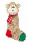 Vianočný Hračka pes Ovce šuštiacou plyš 32cm TR 1ks