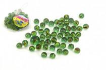 Guličky cvrnkací sklenené cca 50ks 1,5cm