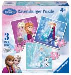 Disney Ľadové kráľovstvo 3 v 1
