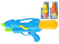 Vodní pistole 37 cm s pumpou - mix barev