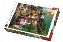 Puzzle Tigrie Hniezdo Bhután 2000 dielikov 96x68cm