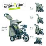 Trojkolka Smart Trike 5 v 1 Explorer Style šedá