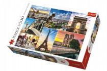 Puzzle Kúzlo Paríža koláž 3000 dielikov 116x85cm