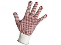 rukavice Gannet nylon / PVC terčíkmi