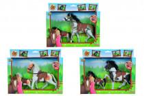 Kôň Beauty Pferde set, 11 a 19 cm - mix variantov či farieb