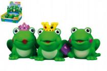 Stříkací zvířátka žába gumová 8cm - mix variant či barev