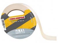 páska krepová 38mmx50m BI do 60 stupňov