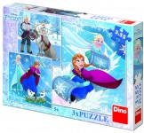 WD Frozen: Zimné radovánky 3x55D