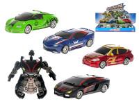 Auto / robot 11 cm kov voľný chod - mix variantov či farieb